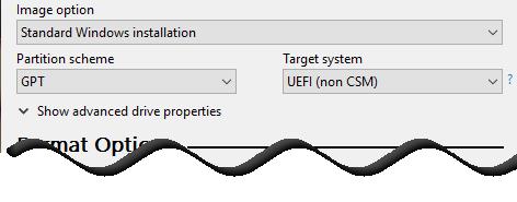 Load Windows 10 ISO file