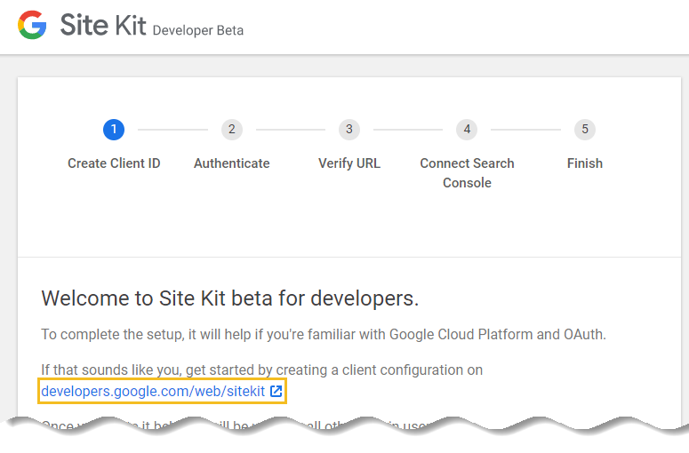 Generate your client ID from Google cloud platform