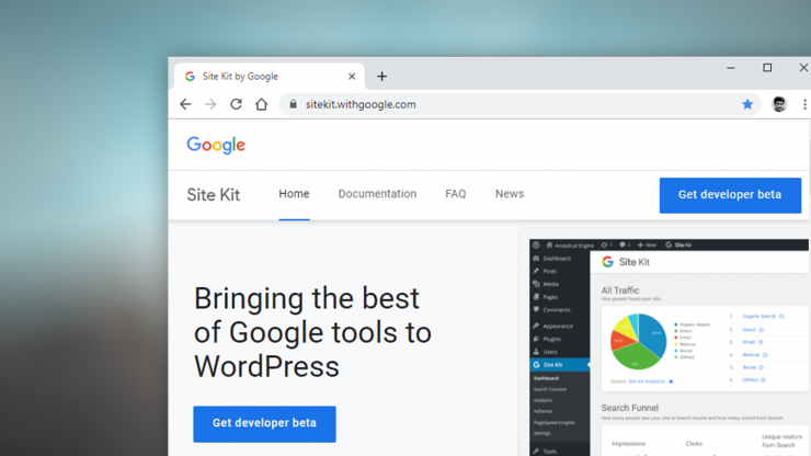 How to set up Google Site Kit on WordPress