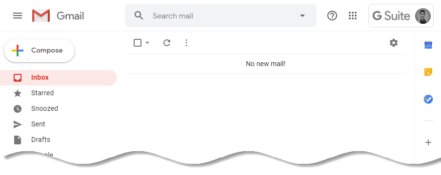 Company logo in gmail inbox