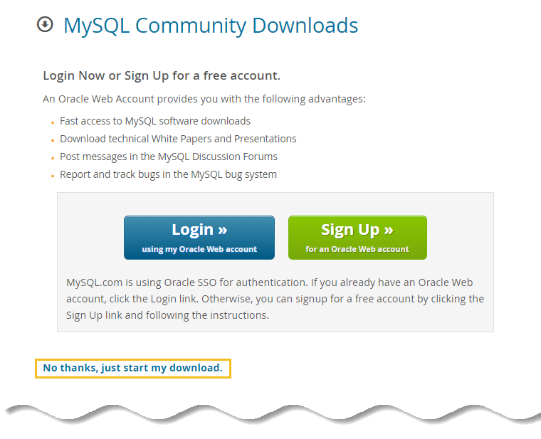 Download MySQL for windows full offline installer  - Install MySQL on Windows