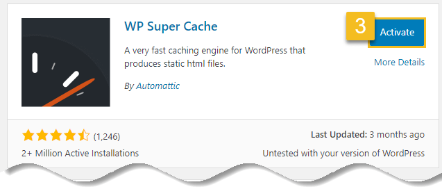 Install WordPress plugin - Click on activate button
