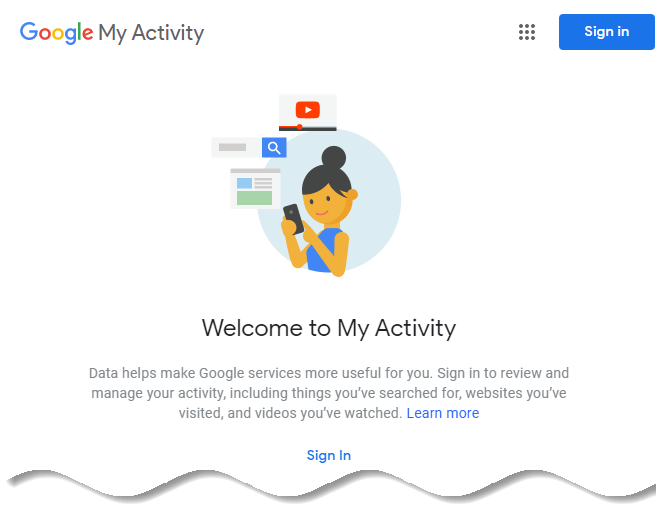 How to delete Google browsing history - Google My Activity