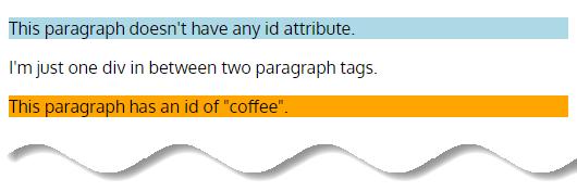 CSS Selectors – id Selector example 1