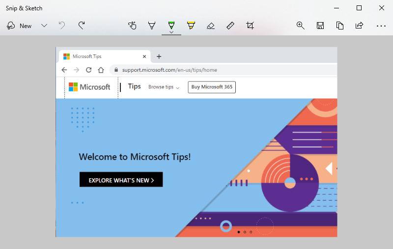 How to Take a Screenshot on Windows 10 - take screenshot with Snip & Sketch -2