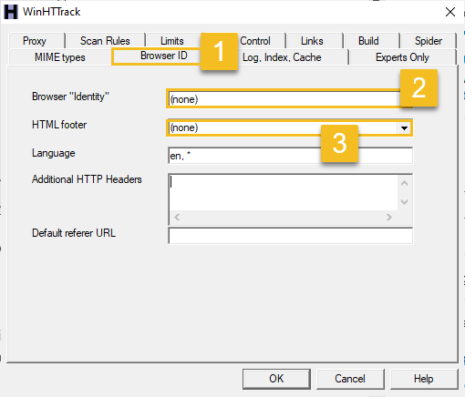 Copy any website using HTTrack - img 6