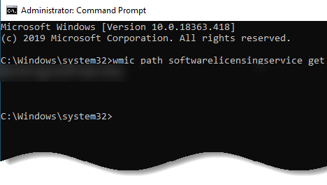 How to find Windows 10 product key - How to find Windows 10 product key using the command prompt - img 4