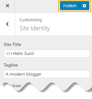 Favicon on WordPress - img 9